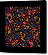 Natural Floral Pattern Canvas Print