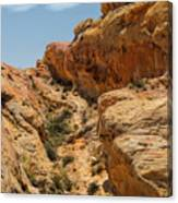 Natural Staircase Valley Of Fire Canvas Print