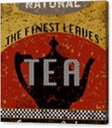 Natural Tea Canvas Print