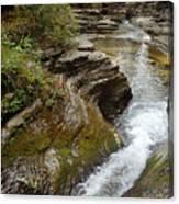 Natural Waterslide Canvas Print