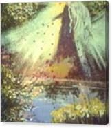 Nature Angel Canvas Print