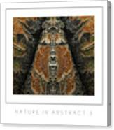 Nature In Abstract 3 Poster Canvas Print