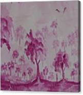 Nature In Illusion Canvas Print
