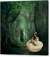 Nature Is Her Adornment Canvas Print