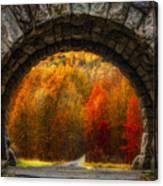 Natures Color Schemes Canvas Print