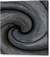 Nature's Illusions- Yin And Yang Canvas Print