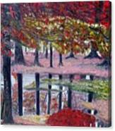 Natures Painting Canvas Print