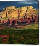 Nature's Spotlight, Sedona, Arizona Canvas Print