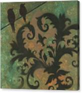 Natures Whimsy 4 By Madart Canvas Print