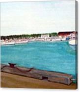 Naufrage Harbour Pei Canvas Print