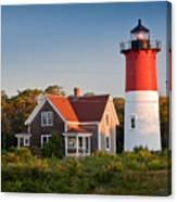 Nauset Beach Light Canvas Print