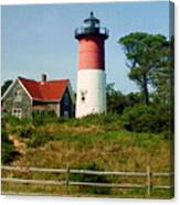 Nauset Lighthouse Canvas Print