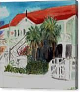 Nautical Museum Georgetown Canvas Print