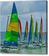 Nautical Travel Canvas Print