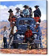 Navajo Grandstand Canvas Print