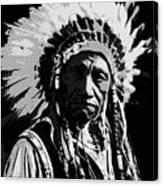 Navajo Indian Chief Canvas Print