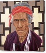 Navajo Medicine Man Canvas Print
