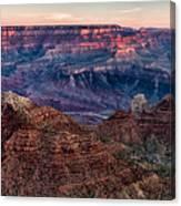 Navajo Point Sunrise Canvas Print