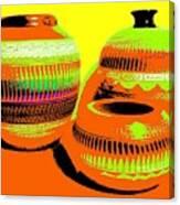 Navajo Pots Canvas Print