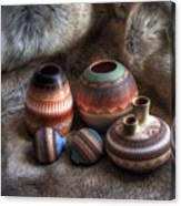 Navajo Pottery Canvas Print