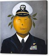 Naval Officer Canvas Print