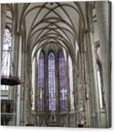 Nave - St Lambertus - Germany Canvas Print