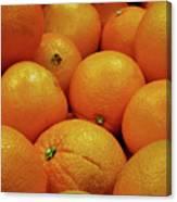 Navel Oranges Canvas Print