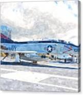 Navy Aircraft Canvas Print