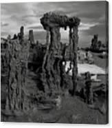 Navy Beach--mono Lake Canvas Print