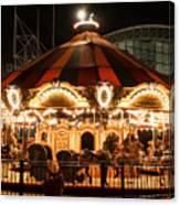 Navy Pier Merry-go-round Chicago Il Canvas Print