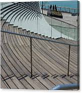 Navy Pier Stairs Canvas Print