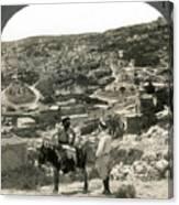 Nazareth, Palestine, C1920 Canvas Print