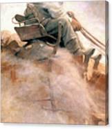 N.c. Wyeth: Ore Wagon Canvas Print
