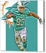 Ndamukong Suh Miami Dolphins Oil Art Canvas Print