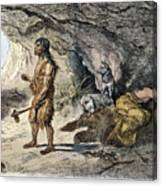 Neanderthal Man Canvas Print