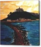 Near Penzance St. Michaels Mount Canvas Print