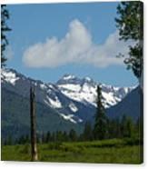 Near Sparwood British Columbia  Canvas Print