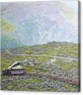 Near The Top Canvas Print