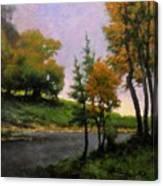 Near Woodland Canvas Print