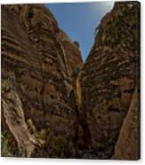 Nearing The Slot Canyon - Tent Rocks Canvas Print