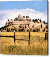 Nebraska Buttes Canvas Print