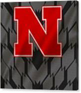 Nebraska Cornhuskers Uniform Canvas Print