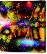 Nebula Collision Course Canvas Print