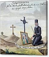 Necromancy, 18th Century Canvas Print