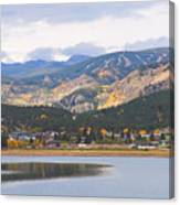 Nederland Colorado Scenic Autumn View Boulder County Canvas Print