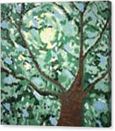 Ned's Garden The Right Tree Canvas Print