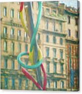 Needle And Thread Milan Italy Canvas Print