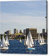Needle Sails By Canvas Print