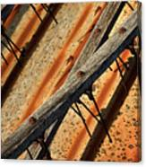 Needles And Wood Canvas Print