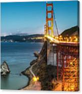 Needles At The Ggb Canvas Print